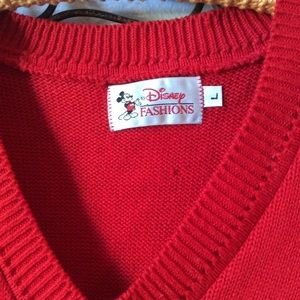 Disney Sweaters - Disney Vintage Mickey Mouse Golf Sweater Golfing